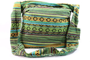 IKAT Durrie Sling Jhola Bag Earthy Blends