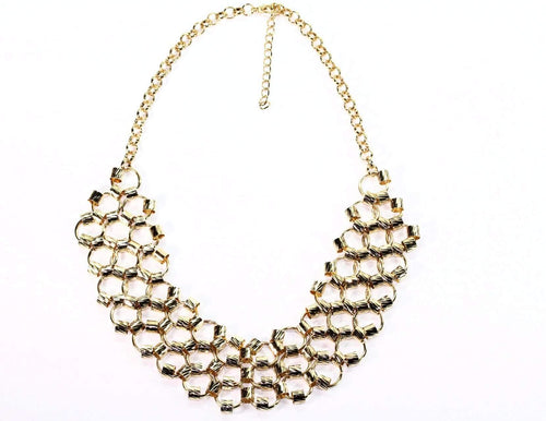 Classic Honeycomb Necklace