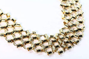 Classic Honeycomb Necklace by Wild Lotus