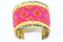 Load image into Gallery viewer, Beaded Cuff Bangles by Wild Lotus