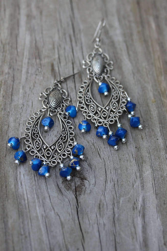 Breezy Skies Scroll Work Style Earrings by Wild Lotus