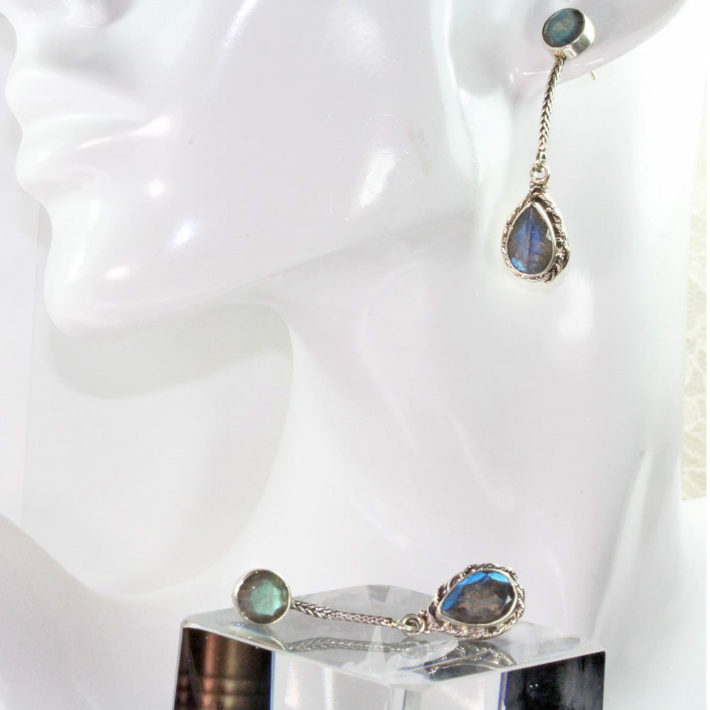 Labradorite Splendor Earrings