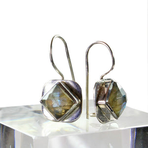 Labradorite Lifestyle Hook Earrings | Wild Lotus® | @wildlotusbrand