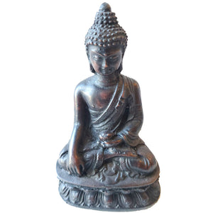 Little Buddha Resin Statue | Wild Lotus®
