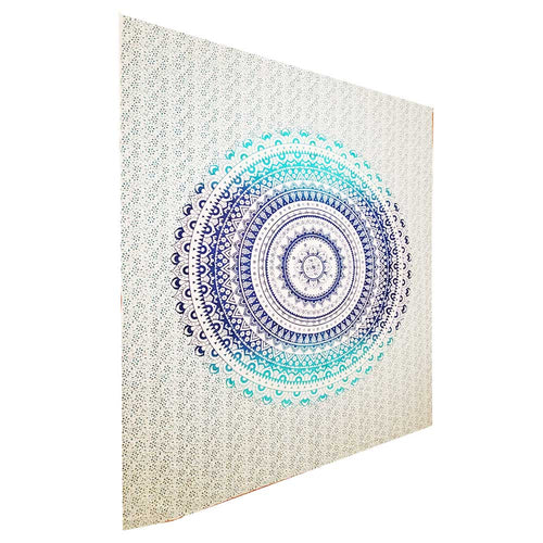 Ombre Art Pattern Full Size Sheet Tapestry Wall Hanging Decoration