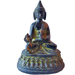 Little Buddha Resin Festival Statue | Wild Lotus®