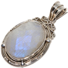 Load image into Gallery viewer, Artisan Rope-work Moonstone Pendant