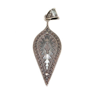 Tribal Teardrop Shape Handcrafted Pendant | @wildlotusbrand | Wild Lotus®