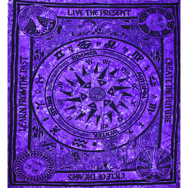 Purple Cycle Of The Ages Tapestry
