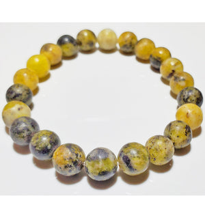8mm Serpentine Bead Elastic Stretch Bracelet | Wild Lotus® | @wildlotusbrand