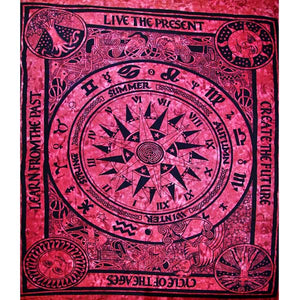 Smokey Violet Cycle Of The Ages Tapestry