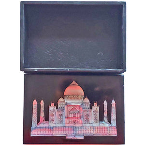 Wonders of the World Taj-Mahal- Blackstone Case | Wild Lotus®