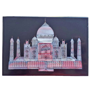Wonders of the World Taj-Mahal- Blackstone Case | @wildlotusbrand | wildlotusbrand.com