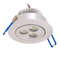 Midtown LED Recessed Light (Silver finish)