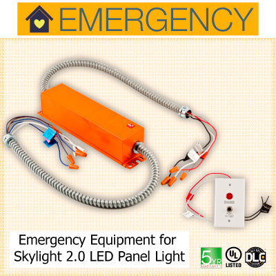 LED Emergency Equipment for Skylight LED panels