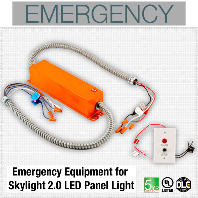 Emergency Equipment for Skylight LED Panel