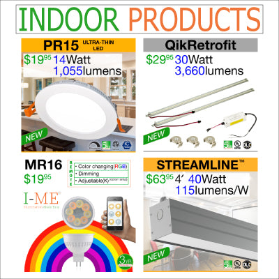 Indoor LED Lighting Products