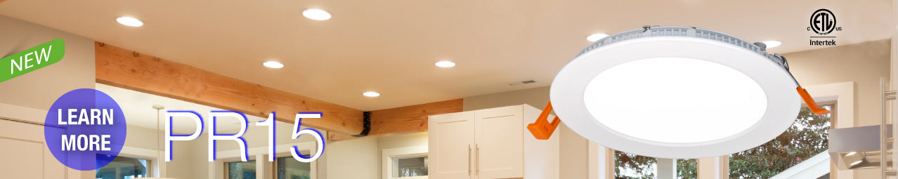 PR15 Ultra-thin Recessed LED Light