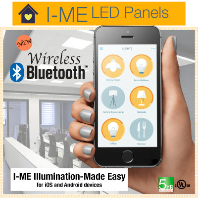 I-ME BlueTooth Enabled Color tunable LED panel