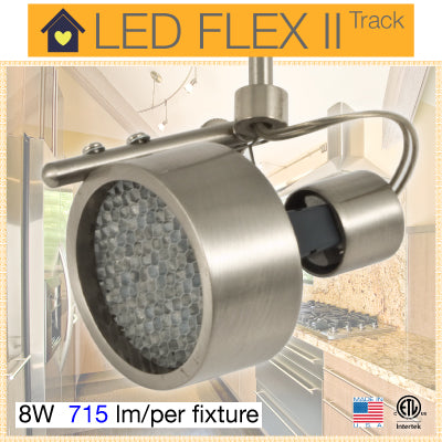 FLEX II LED Track Lighting Kit