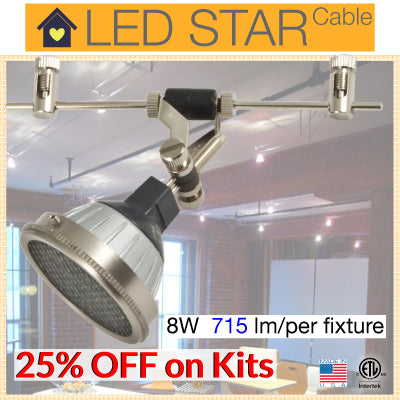 LED STAR Cable Lighting Kit