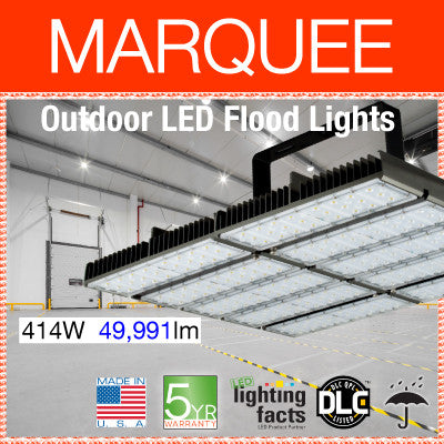 MARQUEE Outdoor LED Flood Lights