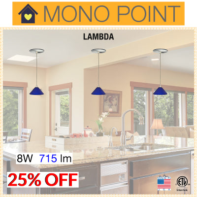 Mono Point LED Pendants