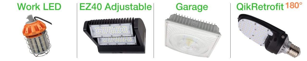 Outdoor LED Lighting Products