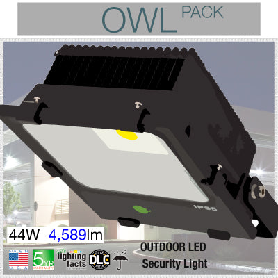 Owl Pack Outdoor LED Flood Lights
