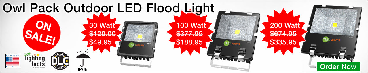 Owl Pack LED Flood Lights on sale