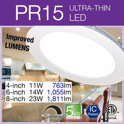 PR15 LED Recessed Light