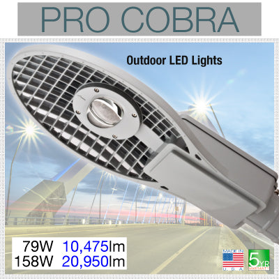 Pro Cobra LED Street Lights