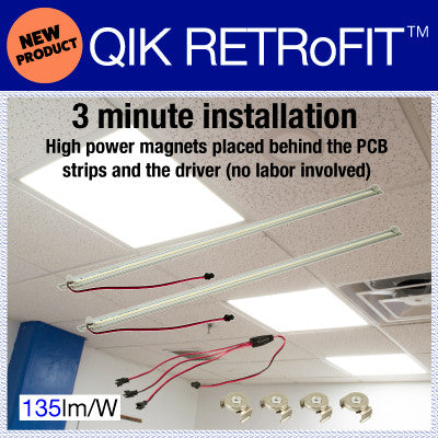 QIK RETRoFIT LED Light Bars