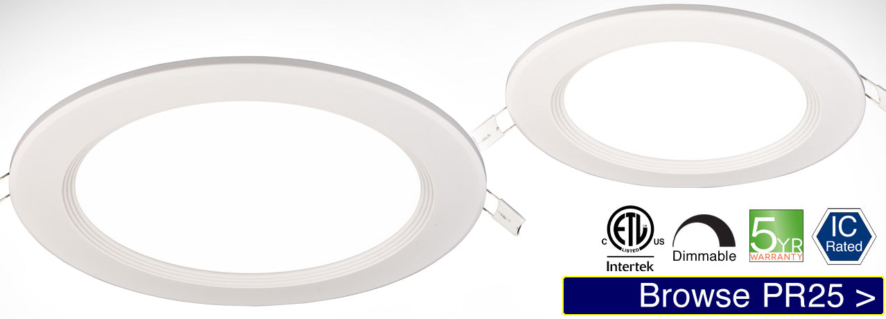 PR25 LED Recessed Light