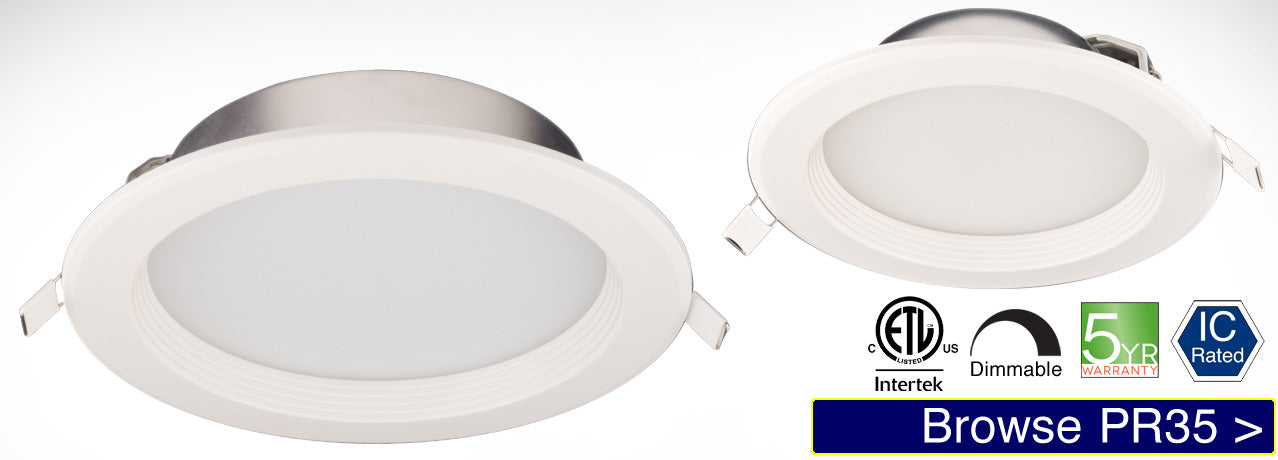 PR35 LED Recessed Light