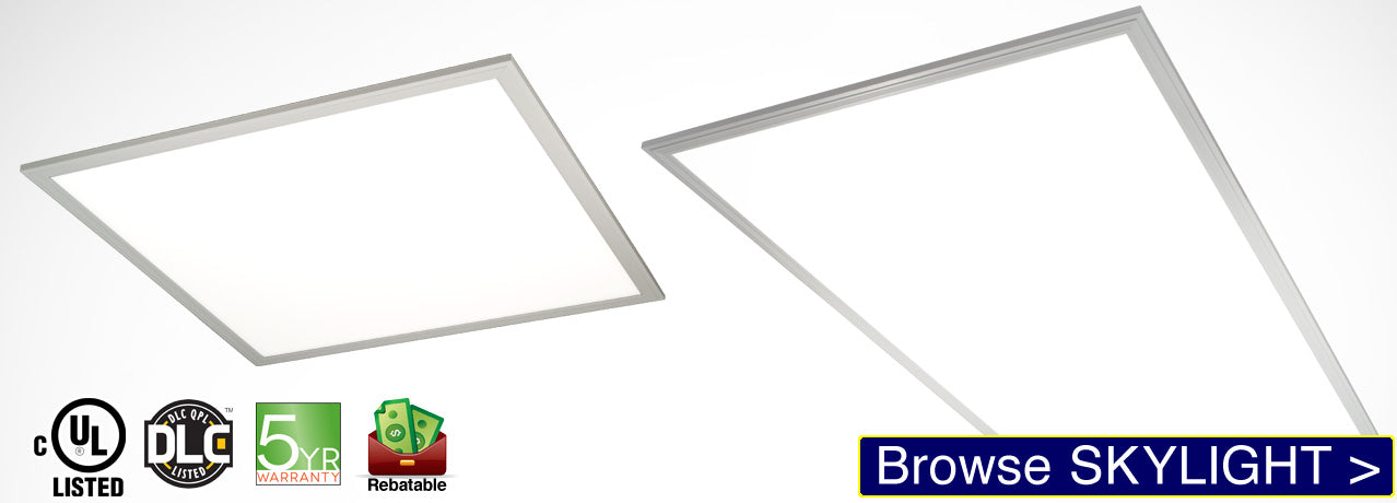 SKYLIGHT Ultra-thin LED Panel Light for drop ceilings