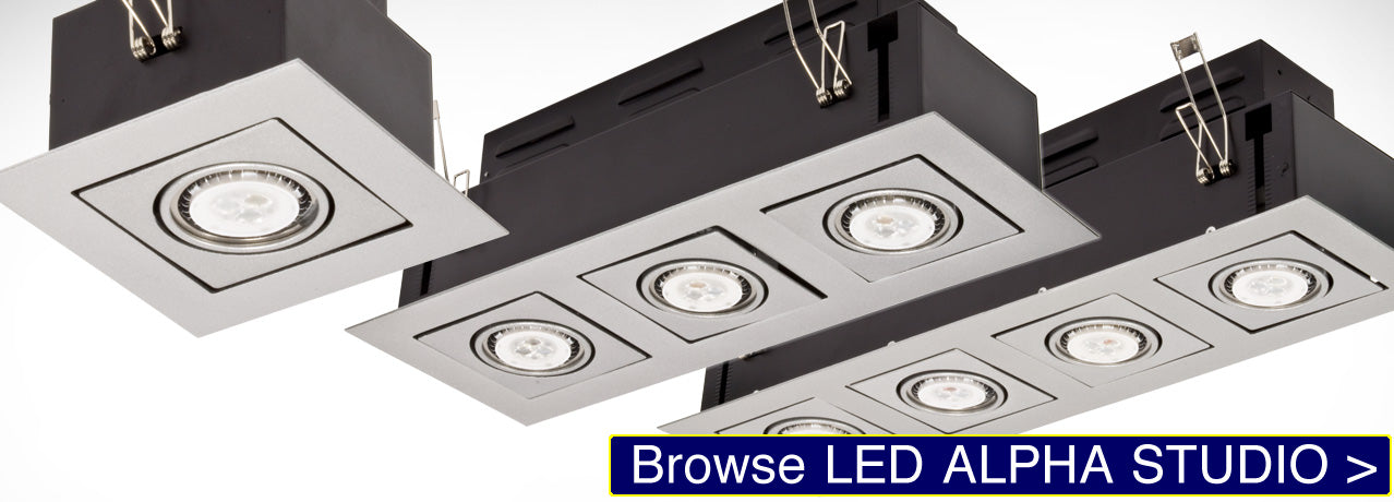 LED Alpha Studio Recessed Light