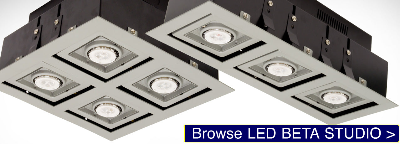 LED Beta Studio Recessed Light