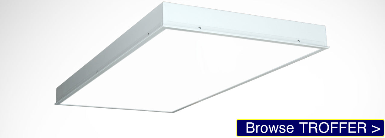 TROFFER LED Panel Light for drop ceilings