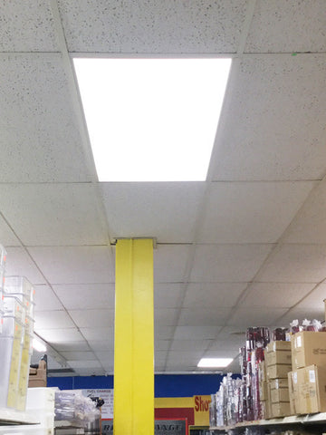 Skylight Ultra Thin Led Panel Light 2x4ft Dlc Led Waves
