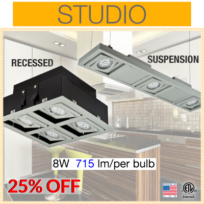 LED Studio Recessed Light
