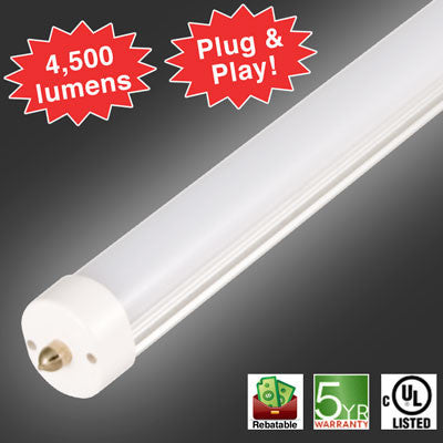 ... Fluorescent Lighting; Lasts 50,000 Hours; Backed By LED Wavesu0027 5 Year  Warranty