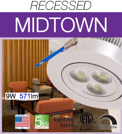 Midtown LED Recessed Light