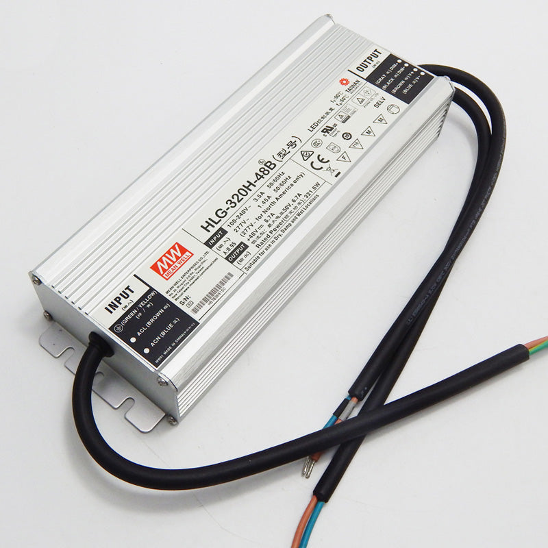 48VDC IP65 Dimmable LED Driver 320W (power supply) (final sale item)