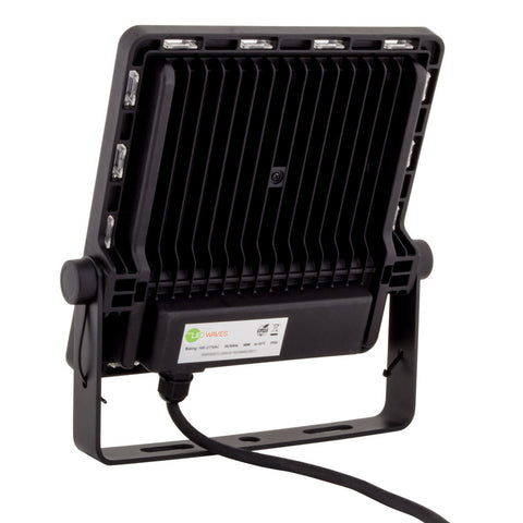 Back side of Owl X Slim Outdoor LED Flood Light (IP66, IK08)