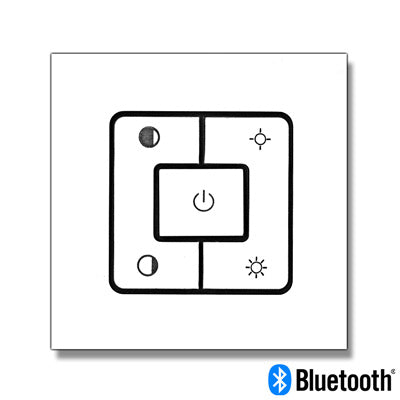 Wall Mount Remote Controller for Bluetooth Smart Control LED Panel Light