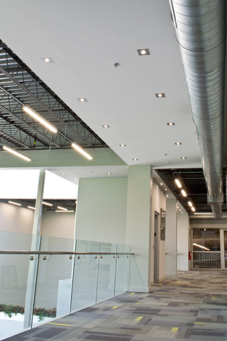 LED Studio Recessed units installed in an office