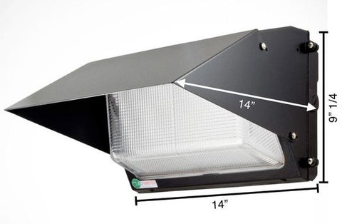 EZ40 LED Wall Pack (with a cut-off hood)