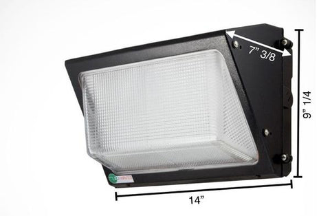 EZ40 LED Wall Pack (without a hood)