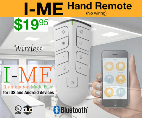 Remote Controller for I-ME™ LED Panel Light